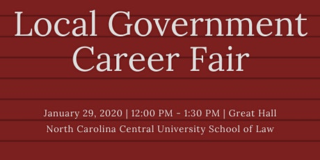 Local Government Career Fair tickets