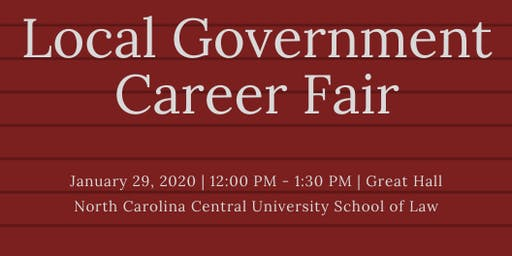 Local Government Career Fair
