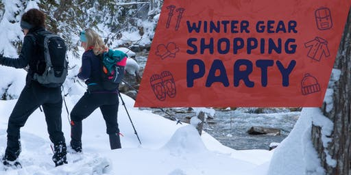 Winter Gear Shopping Party w/ Keri Bowzaylo