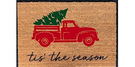 DIY Doormat Workshop - Winter & Christmas (2019-12-19 starts at 7:00 PM) tickets
