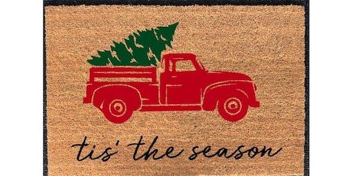 DIY Doormat Workshop - Winter & Christmas (2019-12-19 starts at 7:00 PM)