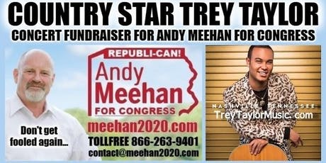 COUNTRY STAR TREY TAYLOR CONCERT FUNDRAISER FOR ANDY MEEHAN FOR CONGRESS! tickets