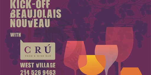 CRU's 8th Annual Beaujolais Nouveau Block Party