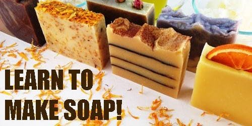 Wine Soap Making Class