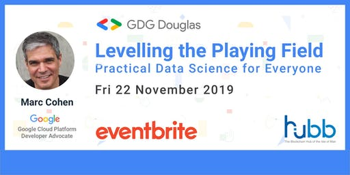 Google Talk on Data Science - Levelling the Playing Field — Practical Data