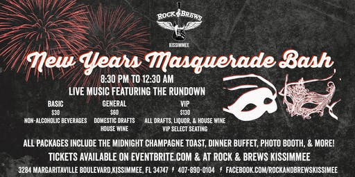 New Years Masquerade Bash