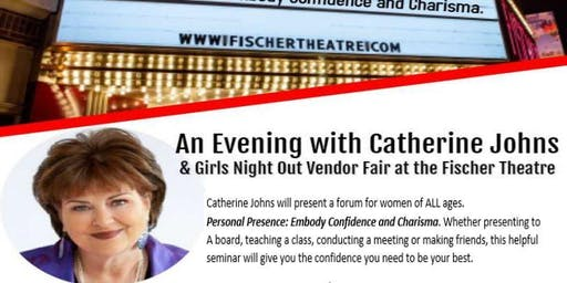 An Evening with Catherine Johns and Vendor Fair @ The Fischer