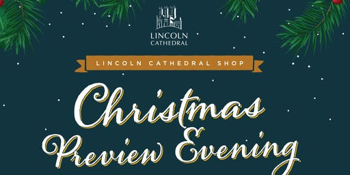 Lincoln Cathedral Shop Christmas Preview Night