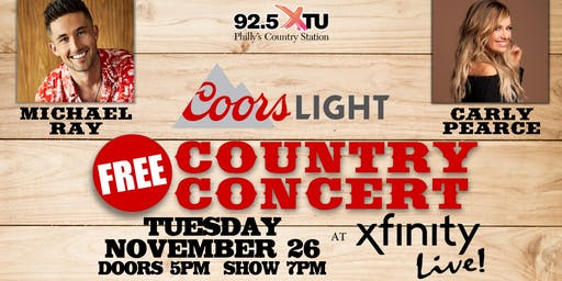 Coors Light Country Nights w/ Michael Ray & Carly Pearce