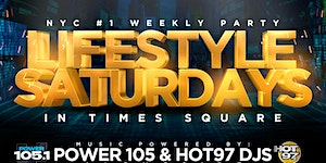 Everyone Free For Lifestyle Saturdays at Jimmy's NYC