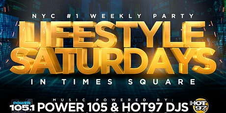 Everyone Free For Lifestyle Saturdays at Jimmy's NYC tickets