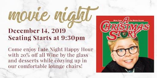 Movie Night  - A Christmas Story