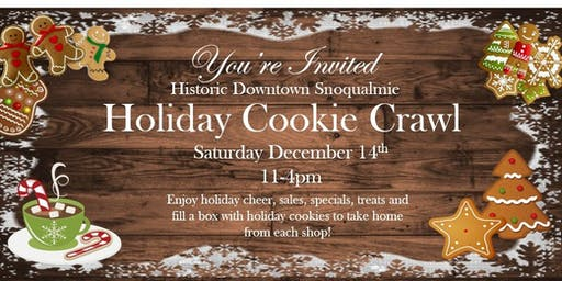 Historic Downtown Snoqualmie Holiday Cookie Crawl