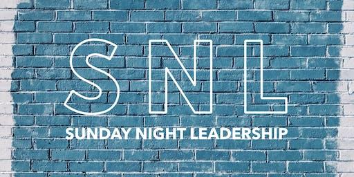 Sunday Night Leadership