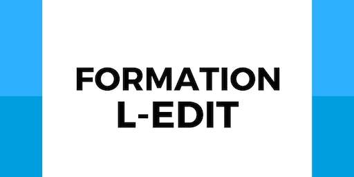 Formation L-Edit
