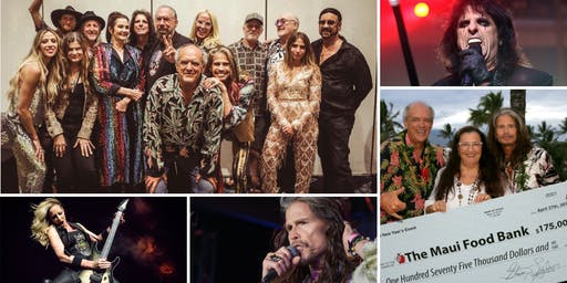 NYE Wailea Concert with a Cause - with Steven Tyler, Alice Cooper, & More!