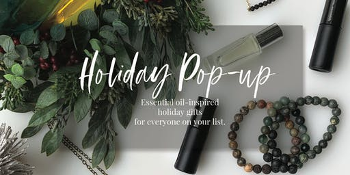 Holiday Pop-up with Essential Oils