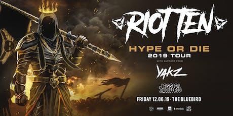 Riot Ten Hype Or Die Tour tickets