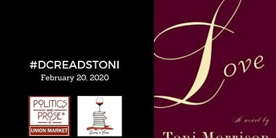 #DCReadsToni presents LOVE by Toni Morrison