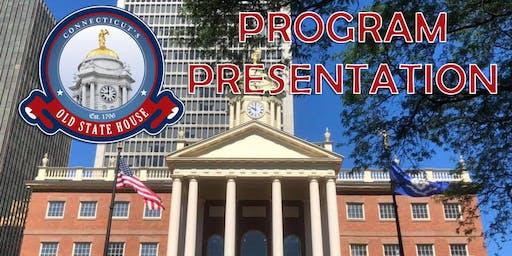 The Connecticut Democracy Center's Program Presentation - Invitation Only