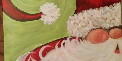 Santa Paint and Sip