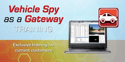 VSPY as a Gateway Training @ ICS HQ