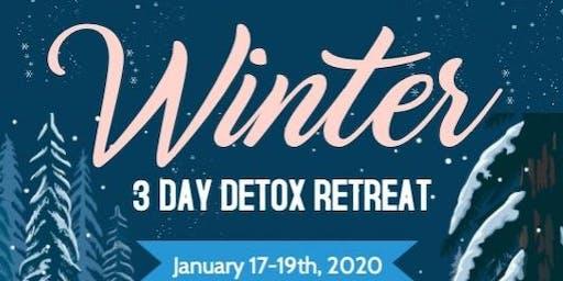 3 Day Detox Winter Retreat