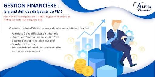 GESTION FINANCIÈRE : le grand défi des entrepreneurs & dirigeants de  PME