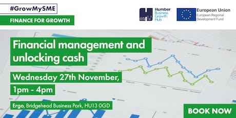 Workshop 3 - Financial management and unlocking cash tickets