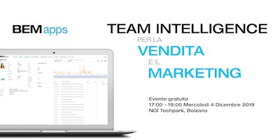 BEMapps.com: team intelligence per la vendita e il marketing