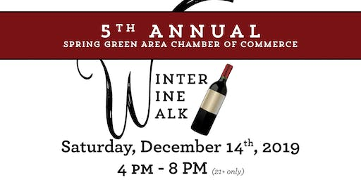 SOLD OUT!!!  Winter Wine Walk