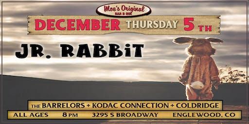 Jr. Rabbit w/ The Barrelors + Kodac Connection + Coldridge