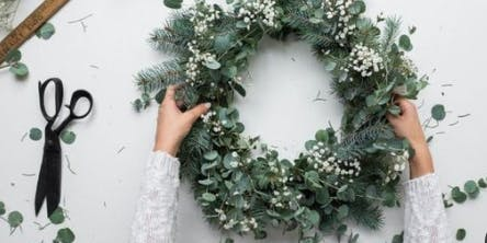 Thursday DIY Wreath Making and Shopping Party
