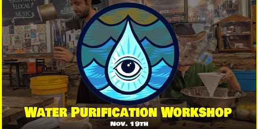 Water Purification: Buzz Mill Shady