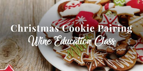 Christmas Cookie and Wine Pairing tickets
