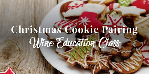 Christmas Cookie and Wine Pairing