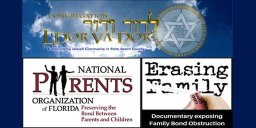 L'Dor Va-Dor Screening of Erasing Family sponsored by National Parents Org