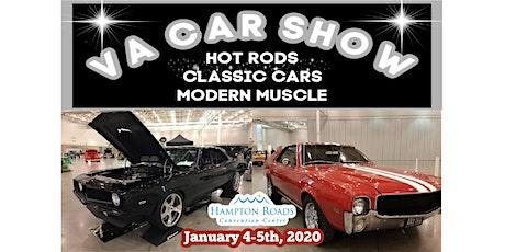 VA Car Show Jan 4 -5, 2020 at Hampton Roads Convention Center tickets