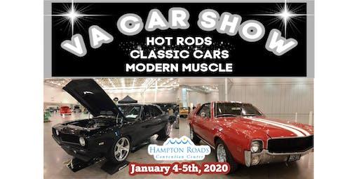 VA Car Show Jan 4 -5, 2020 at Hampton Roads Convention Center