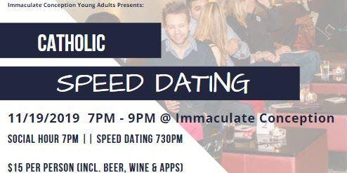 Catholic Speed Dating for Young Adults