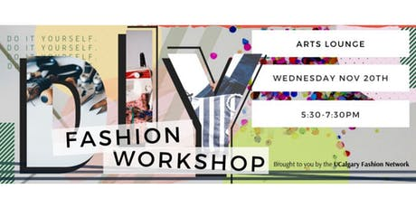 DIY Fashion Workshop tickets