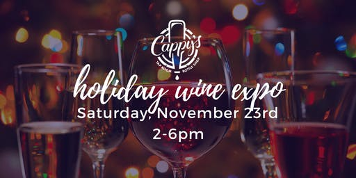Cappy's Holiday Wine Expo