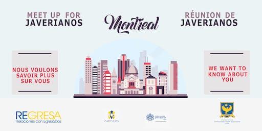 Encuentro de Javerianos en Montreal