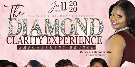 """Dimples & Diamonds presents """"The Diamond Clarity Experience"""" tickets"""