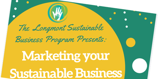 Marketing your Sustainable Business