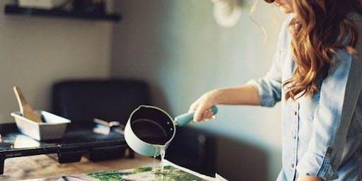 Resin Painting Workshop