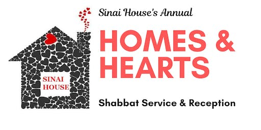 Homes & Hearts Shabbat For Sinai House