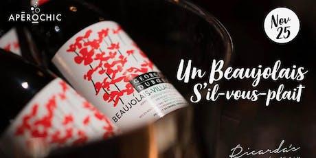 Beaujolais Nouveau 2019 - NEW VENUE! tickets