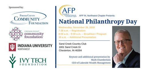 National Philanthropy Day 2019 hosted by AFP Northwest Indiana
