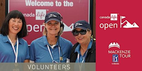 2020 Canada Life Open Volunteer Registration tickets